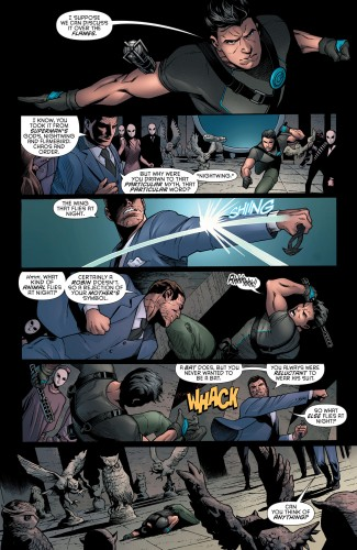 Robin War #2 spoilers Dick Grayson Robin Nightwing Court of Owls 5