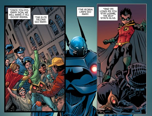 Robin War #2 spoilers Dick Grayson Robin Nightwing Court of Owls 7