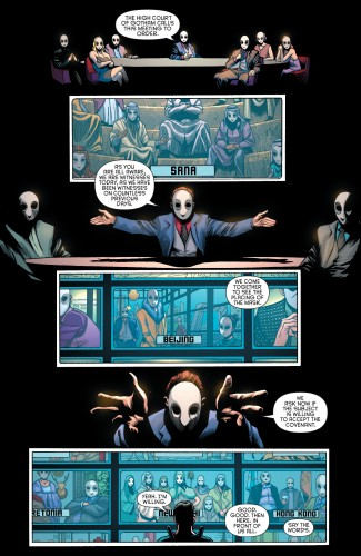 Robin War #2 spoilers Dick Grayson Robin Nightwing Court of Owls 8