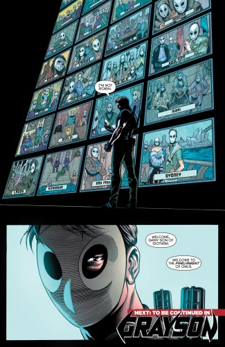 Robin War #2 spoilers Dick Grayson Robin Nightwing Court of Owls 9