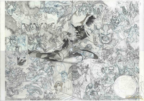 Secret Wars #1 to #19 together Simon Bainchi gatefold interconnected variants pencils