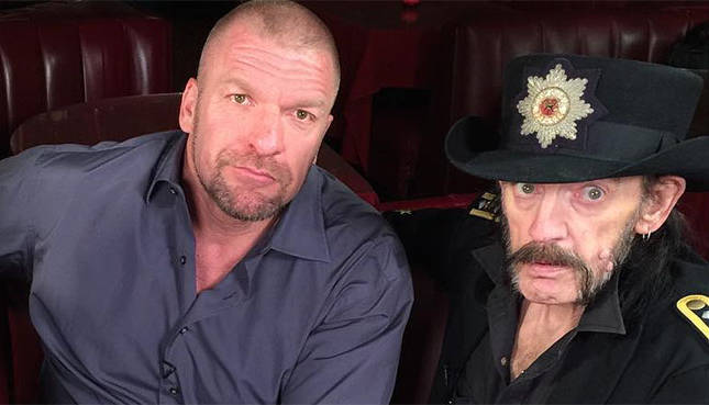 did motorhead write the game for triple h