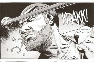 WALKING DEAD #150 cowardly crack