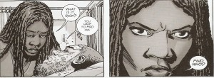 WALKING DEAD #150 go get 'im Michonne