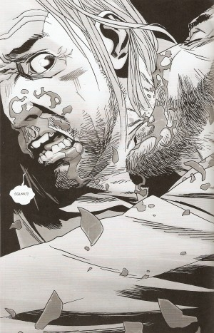 WALKING DEAD #150 going for the jugular
