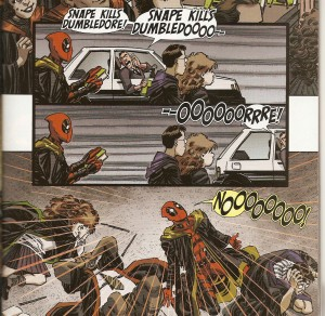 DEADPOOL {4th Series} #7 HP ruined