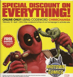 DEADPOOL {4th Series} #7 dominating the market