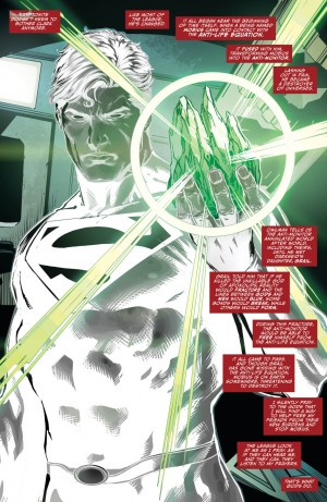 JUSTICE LEAGUE #48 immunity to Kryptonite