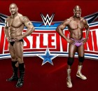 WWE Wrestlemania 32 Dave Bautista aka Batista and Titus O'Neil