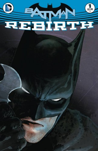 6. Batman Rebirth #1