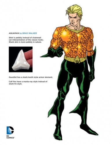 Aquaman concept art DC Rebirth
