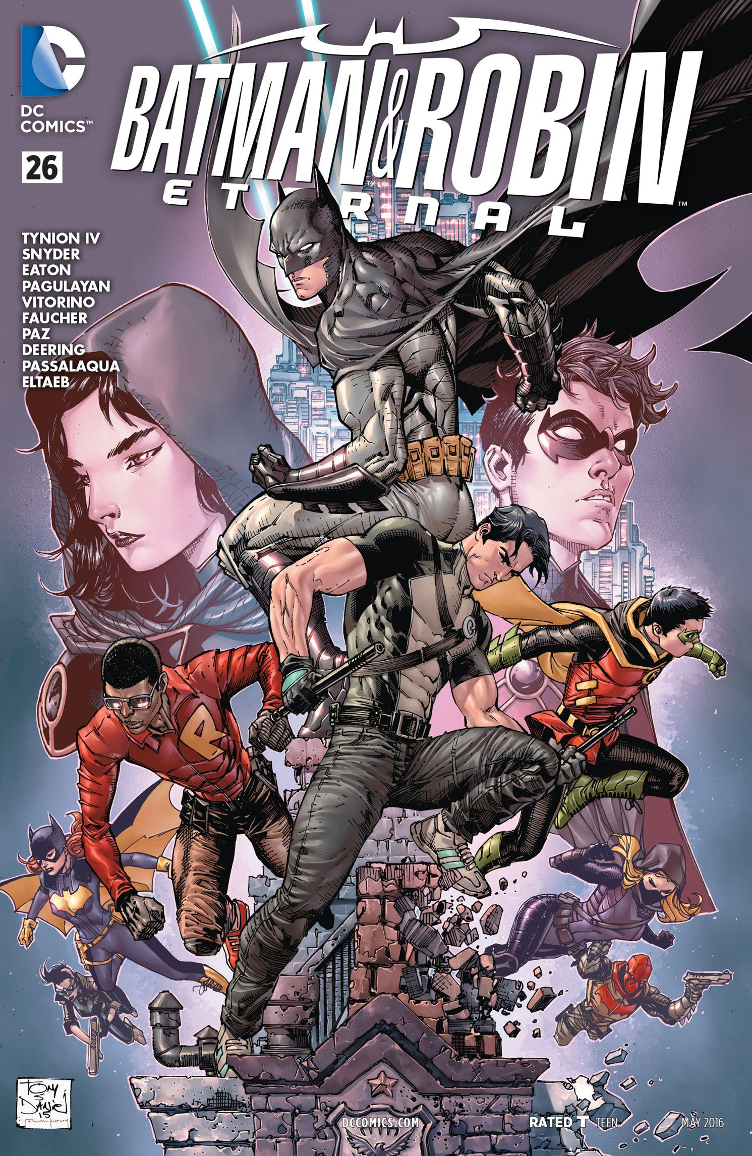 975517421672 DC Comics Rebirth Spoilers  What Is DC Rebirth Batman Family s ...