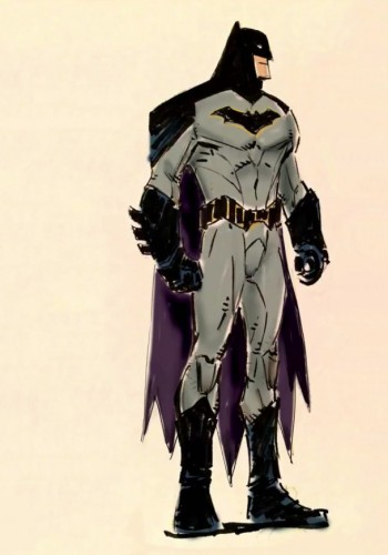 Batman concept art DC Rebirth