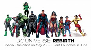 DC Universe Rebirth launch
