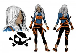 Deathstroke Ravager Rebirth character concept art 1