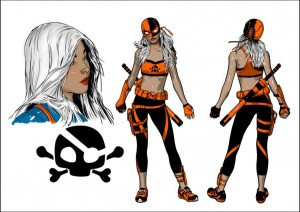 Deathstroke Ravager Rebirth character concept art 2