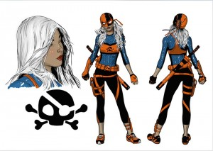 Deathstroke Ravager Rebirth character concept art 3