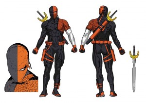 Deathstroke Rebirth character concept art 1