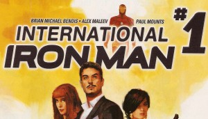 INTERNATIONAL IRON MAN #1 cover re-designed