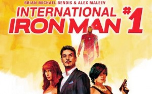 INTERNATIONAL IRON MAN #1 cover slightly different