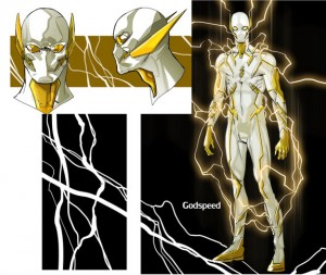 New Flash villain Godspeed concept art DC Rebirth