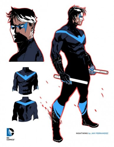 Nightwing Concept art DC Rebirth