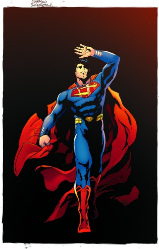 Rebirth Superman concept art DC Rebirth 2