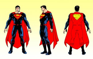 Rebirth Superman concept art DC Rebirth