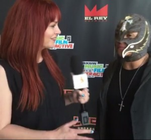 Rey Mysterio MovieClips Interview