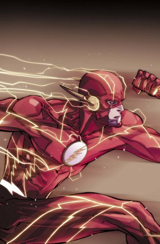 The Flash concept art DC Rebirth