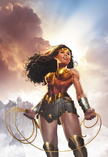 Wonder Woman concept art cover DC Rebirth