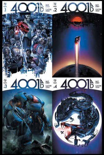 4001 AD Valiant 2016 Summer event #1 #2 #3 #4 covers