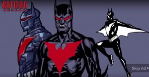 A. Batman Beyond Rebirth concept art