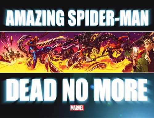 Amazing Spider-Man Dead No More banner complete