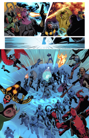 Avengers Standoff Assault on Pleasant Hill Omega #1 spoilers preview Civil War II Marvel prelude 6
