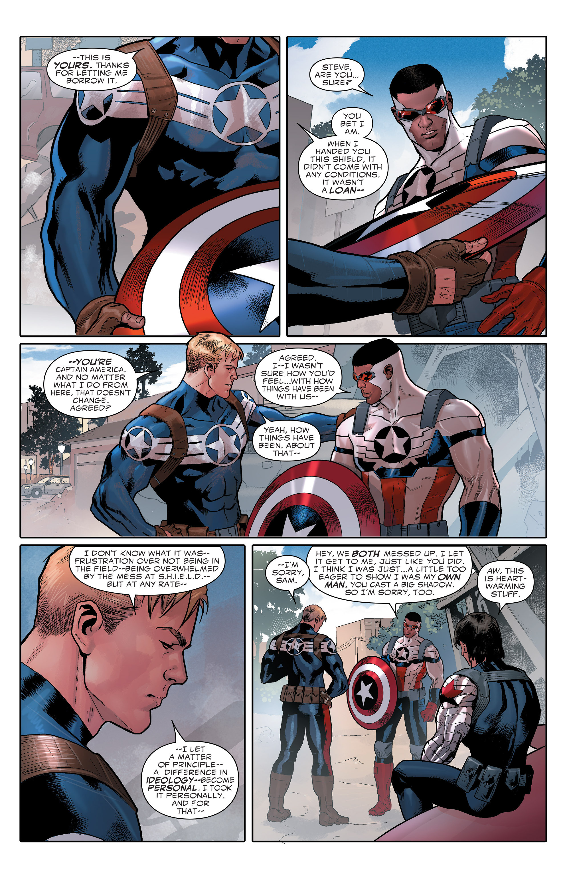 The Avengers Civil War 2