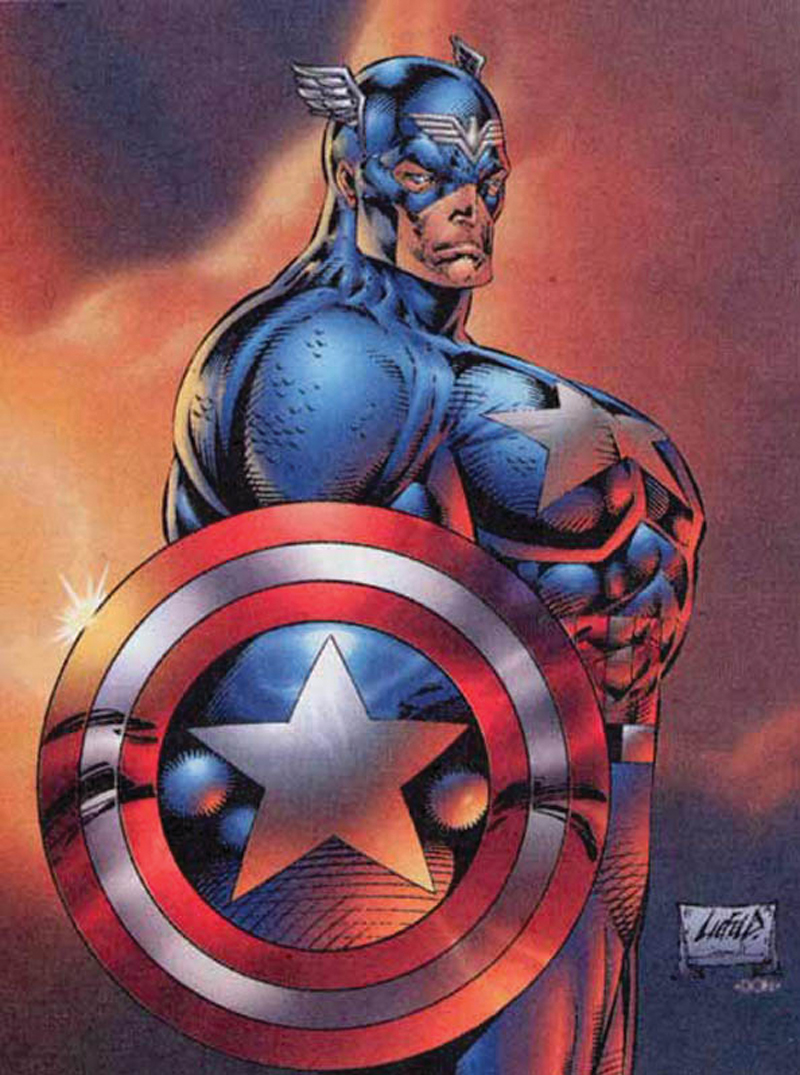Image result for rob liefeld art