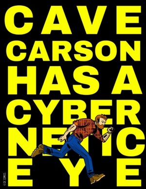 DC Young Animal Cave Carson Has A Cybernetic Eye