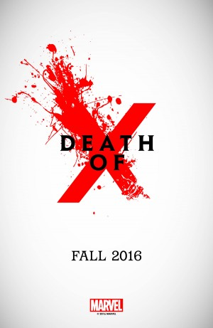 Death of X All-New All-Different Marvel Comics X-Men