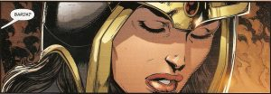 JUSTICE LEAGUE #49 Barda breaks away