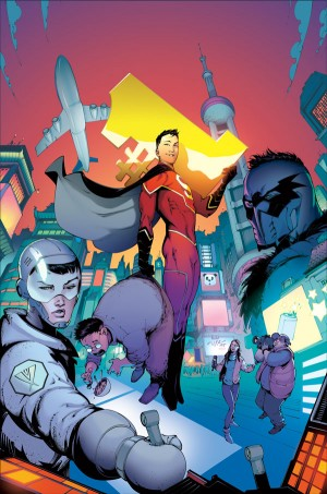 New Super-Man #1 new cover DC Comics Rebirth