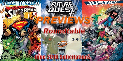 Previews Roundtable DC Rebirth June 2016