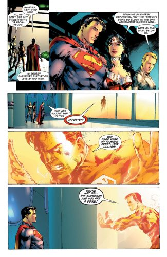 Superman Wonder Woman #28 spoilers pre Rebirth 3