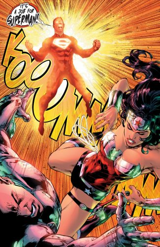 Superman Wonder Woman #28 spoilers pre Rebirth 5