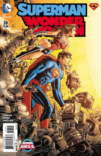 Superman Wonder Woman #28 spoilers preview pre Rebirth 3