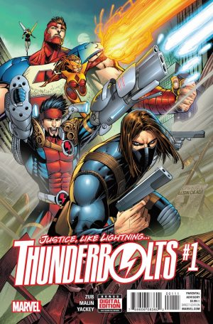Thunderbolts #1 spoilers preview pre Civil War II 1
