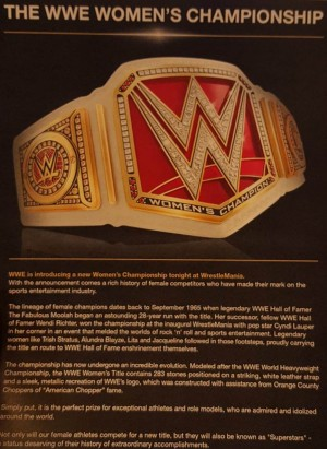 WWE Women's Championship post Wrestlemania 32