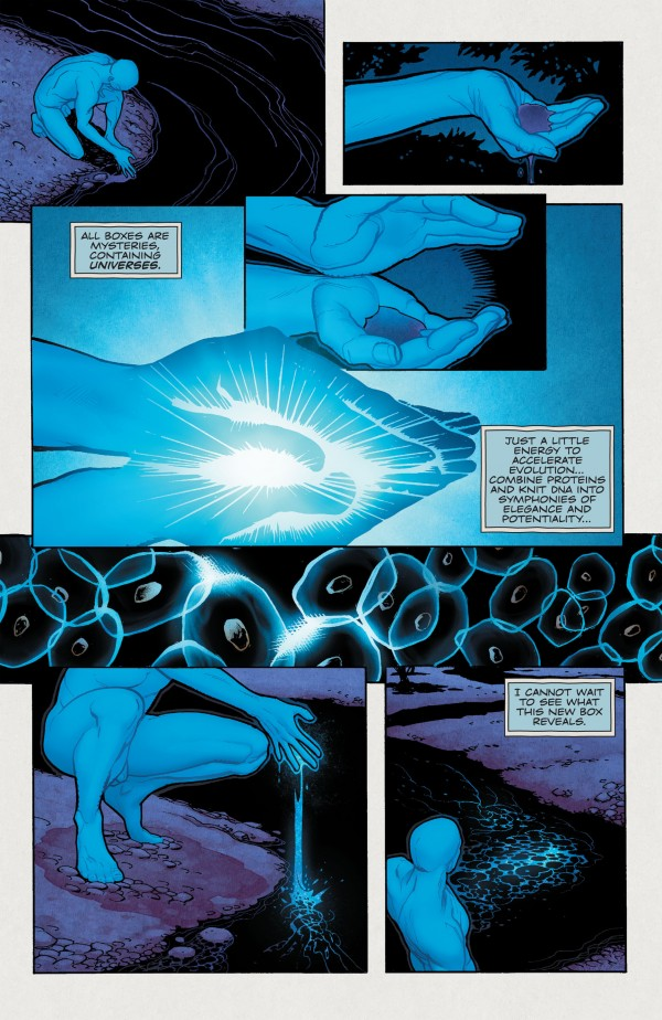 Dr Manhattan Before Watchmen