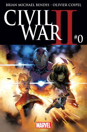 Civil War II #0 spoilers A