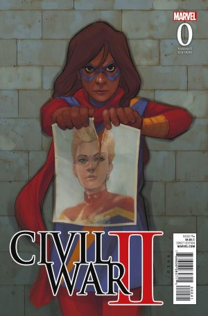 Civil War II #0 spoilers B